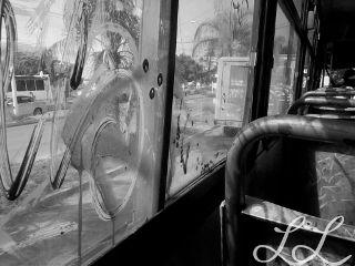 black & white photography travel urban transport