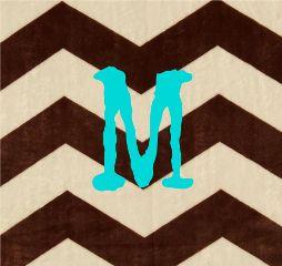 monogram cute