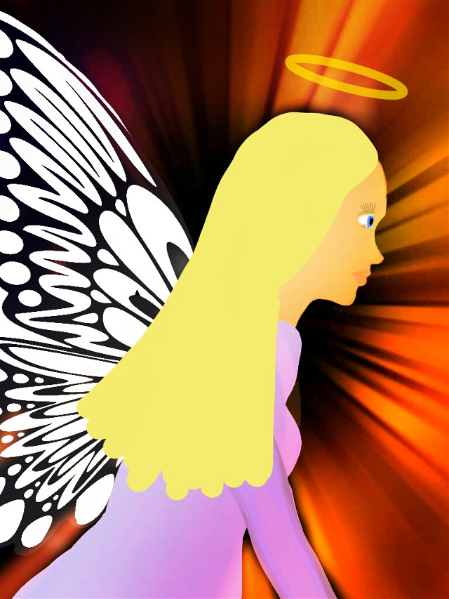 for @jennytremellen my best try for an Angel