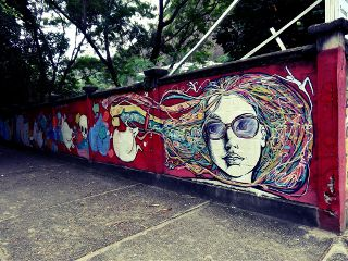 sugarloaf beautiful graffiti colorful photography rio