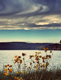 lake autumn spain travel emotions