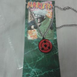 anime naruto sharingan necklace
