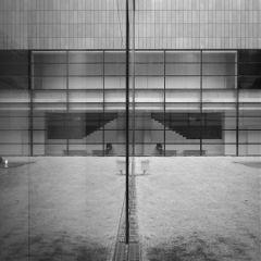 korea black & white architecture people photography