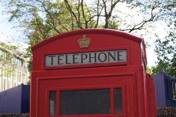 telephonebox london uk carpe diem red