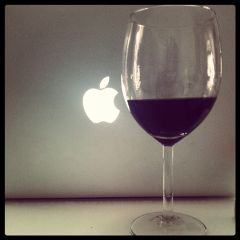 redwine retro drink cabernet love