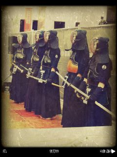 warrior japan kendo style fight