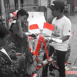 indonesia photography black & white color splash photostory funnzyfam