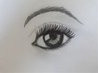 pencil art black & white drawings eyes