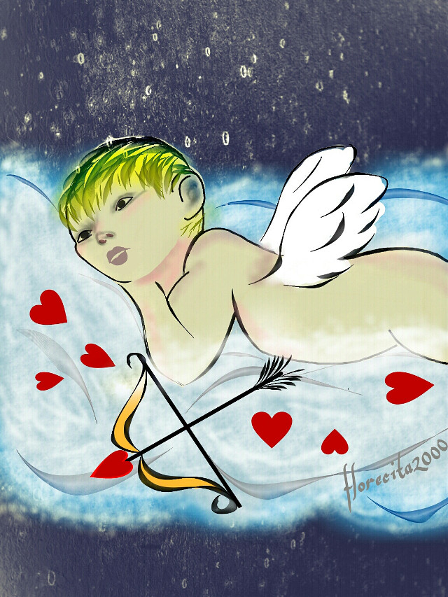 Reposted my old drawing for #wdpcupid   #dccupid #drawing #digitaldrawing #myart